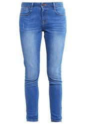 Dorothy Perkins Harper Slim Fit Jeans Midwash Blue Blue Denim