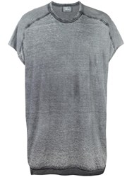 Lost And Found Ria Dunn Washed T Shirt Grey
