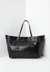 Missguided Black Clean Edge Tote Bag