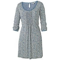 Fat Face Ariel Primrose Tunic Dress Tile Blue