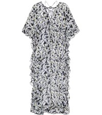 See By Chloe Floral Printed Crepe Dress Multicoloured