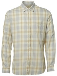 Selected Homme Rune Check Shirt Ombre Blue