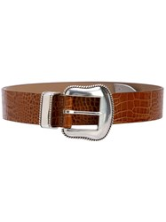 B Low The Belt Calf Leather Brown