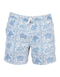 Roy Rogers Roger's Swim Trunks White