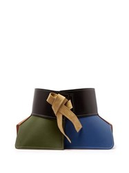 Loewe Obi Leather Belt Multi