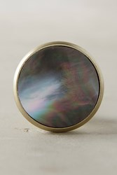 Anthropologie Opaline Knob Grey