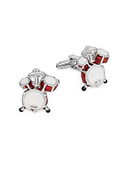 Saks Fifth Avenue Drum Set Cuff Links No Color