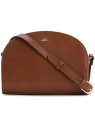 A.P.C. Sac De Milune Bag Brown