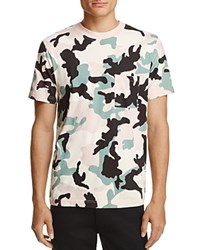 Wesc Maxwell Camouflage Tee Misty Pink