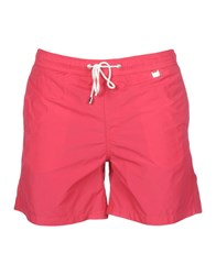 Pedro Del Hierro Swimwear Swimming Trunks Fuchsia