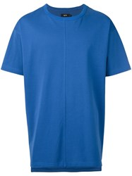 Blood Brother Oversized T Shirt Blue