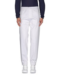 Frankie Morello Trousers Casual Trousers Men White