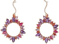 Sharon Khazzam Women's Mixed Gemstone Drop Earrings Colorless