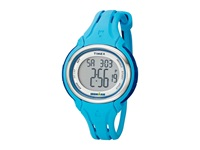 Timex Ironman Sleek 50 Mid Size Turquoise Silver Tone Watches Blue