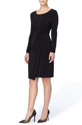 Catherine Malandrino Women's 'Adele' Twist Front Sheath Dress