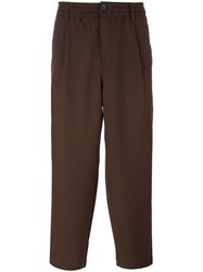 Libertine Libertine 'Helterskelter' Baggy Trousers Brown