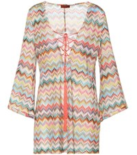 Missoni Mare Knitted Cover Up Multicoloured