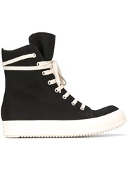 Rick Owens Drkshdw 'Cyclops Vegan' Hi Top Sneakers Black