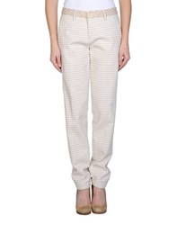Barba Trousers Casual Trousers Women Ivory