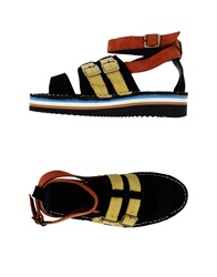 Swear London Sandals Black
