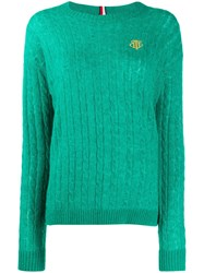 Tommy Hilfiger Cable Knit Jumper 60