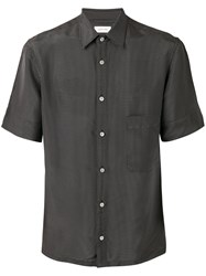 Christophe Lemaire Checked Shirt Grey