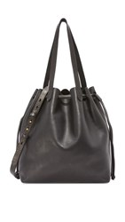 Madewell Drawstring Transport Tote True Black
