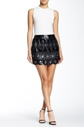 Romeo And Juliet Couture Sequin Mini Skirt Black