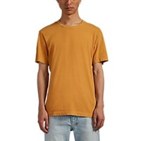 James Perse Cotton Crewneck T Shirt Orange