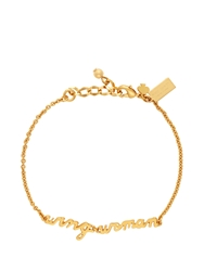 Kate Spade Say Yes Wing Woman Bracelet Gold