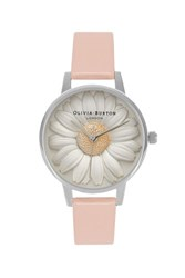 Olivia Burton Flower Show Moulded Daisy Watch By Pink