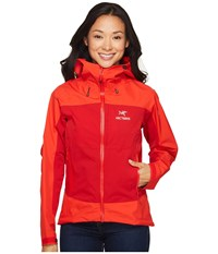 Arc'teryx Alpha Comp Hoody Tamarillo Women's Sweatshirt Red