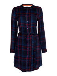 Dickins And Jones Charlotte Checked Tunic Multi Coloured Multi Coloured