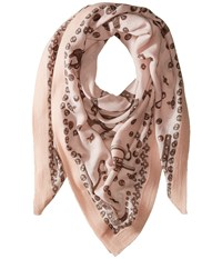 Vivienne Westwood Hardware Powder Pink Scarves White