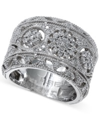 Effy Collection Classique By Effy Diamond Vintage Ring In 14K White Gold 3 4 Ct. T.W.