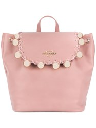 Love Moschino Ball Studded Backpack Pink