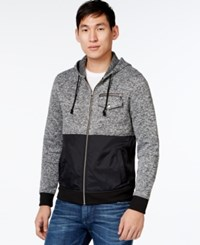 Inc International Concepts Avalanche Colorblocked Hoodie Only At Macy's Deep Black
