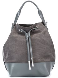 Opening Ceremony Bucket Backpack Grey