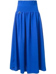Love Moschino Maxi Skirt Blue