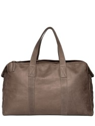 Allsaints Kantji Washed Leather Duffle Bag