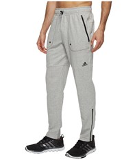 Adidas Sport Id French Terry Pants Medium Grey Heather Men's Casual Pants Gray