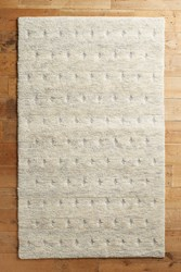 Anthropologie Quinley Rug Light Grey