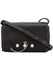 Anthony Vaccarello Classic Crossbody Bag Black
