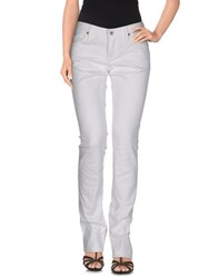 Ralph Lauren Denim Denim Trousers Women White