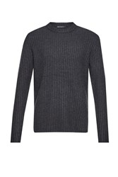 French Connection Men's Geodes Knits Jumper Grey