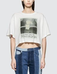Maison Martin Margiela Mm6 Short Sleeve Printed T Shirt