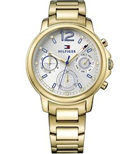 Tommy Hilfiger 1781742 Claudia Pvd Gold Plated Watch