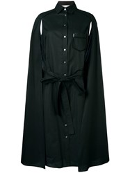 Veronique Branquinho Cape Dress Black