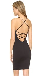 David Lerner Cross Back Dress Classic Black