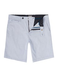 Linea Parry Ticking Stripe Short Navy